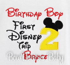 my first disney trip birthday shirt any age custom colors