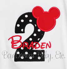 Mickey Mouse Birthday Shirt, Mickey Mouse Shirt
