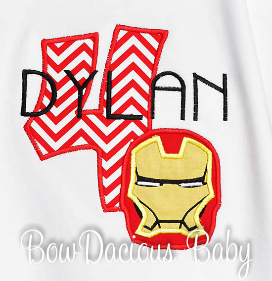 Ironman Birthday Shirt or Onesie