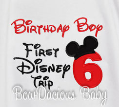 My First Disney Trip Shirt, Birthday Shirt, 1st Disney Trip, Custom Disney Shirt, Any Age, Custom Colors, Personalized Birthday Shirt