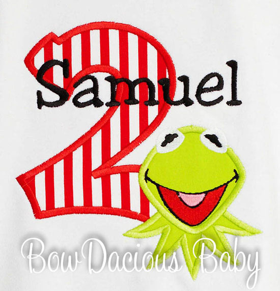 Kermit Birthday Shirt or Onesie, Any Age
