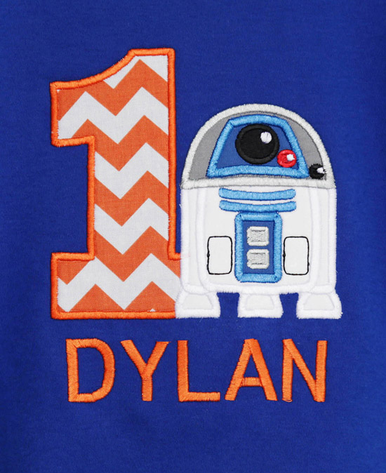 Personalized Star Wars Birthday Shirt, Custom, Any Age