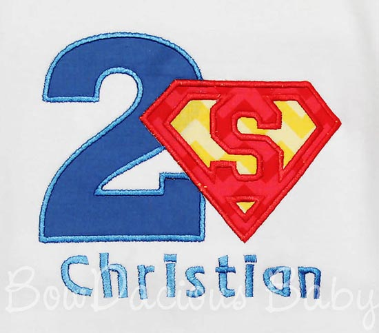 Superman Birthday Shirt or Onesie