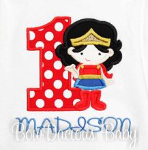 Superhero Birthday Shirts and Onesies