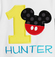 Personalized Mickey Mouse Clubhouse Birthday Oneise