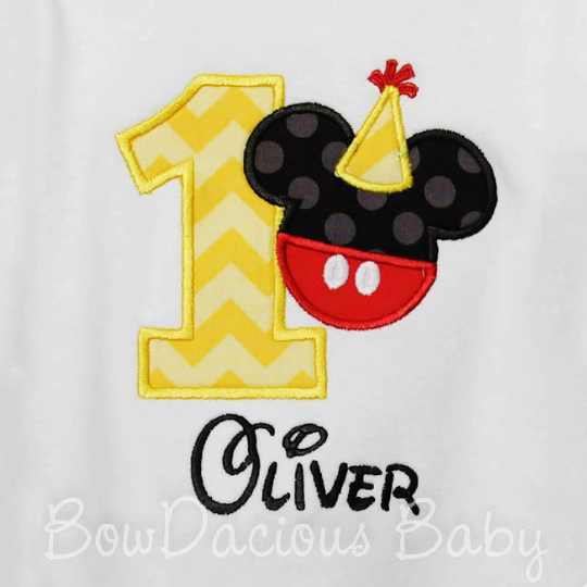 Favorite Character Birthday Shirts and Onesies