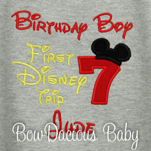 1st Trip to Disneyland and It's My Birthday Shirt, Disney Trip, Birthday Disney Vacation