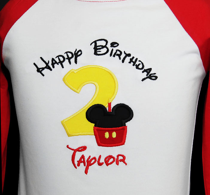 Birthday Boy Shirt with Number, Birthday Boy, Red Raglan, Custom, Shirt or Onesie
