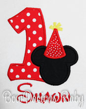 Mickey Mouse Birthday Shirt Bodysuit Onesie, Party Hat, Disney Shirt, Custom, Any Age