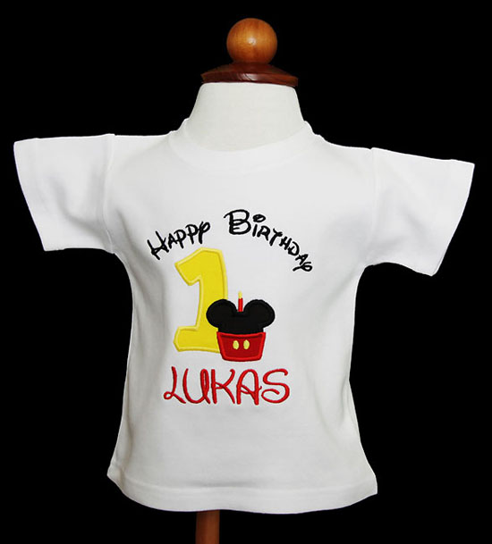 Mickey Mouse Birthday Shirt, Mickey Mouse Birthday Shirt with Number Birthday Boy, Quick Ship