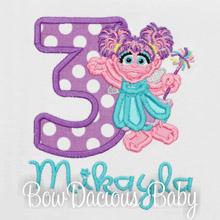Abby Cadabby Birthday Shirt, Any Name and Age, Family Matching Shirts, Sesame Street Birthday Shirt, Custom