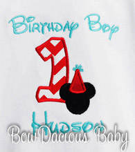 Mickey Mouse 1st Birthday Shirt, Custom