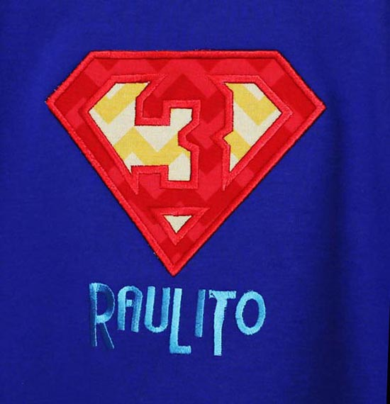 Boys Superman Birthday Shirt or Onesie