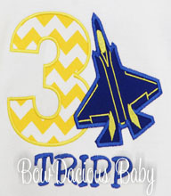 Applique Blue Angels Birthday Shirt, Custom Embroidery, Custom shirt, Onesie, Any Age, Any Colors