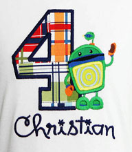 Umizoomi Bot Birthday Shirts and Onesies