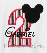 Mickey Toddler Shirt Mickey Birthday Shirt