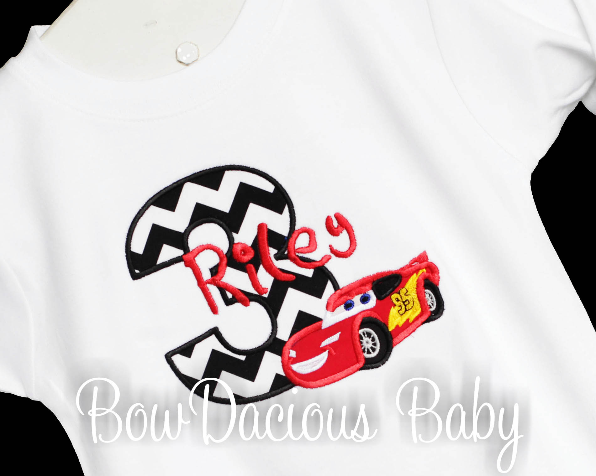 Cars Birthday Shirt, Custom, Any Age, Shirt or Onesie