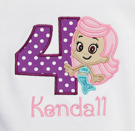 Favorite Character Birthday Shirts, Dresses, and Onesies