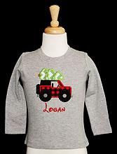 Boys Christmas Shirt, Boys Christmas Raglan, Boys Jeep Christmas Shirt, Christmas Jeep Shirt, Boys Christmas Tee, Custom