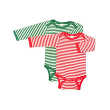 *Upgrade* Long Sleeve Stripe Onesie  *MUST* Be Purchased with a Design Shirt