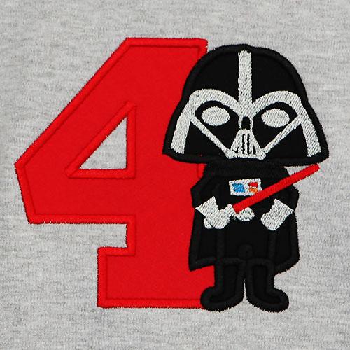 Darth Vader Birthday Shirt, Custom, Any Age, Free Personalization