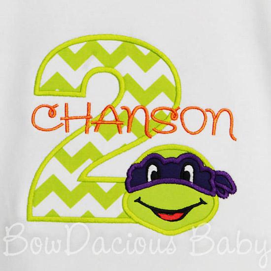 Ninja Turtles Birthday Shirt