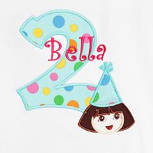 Dora Birthday Shirt, Custom