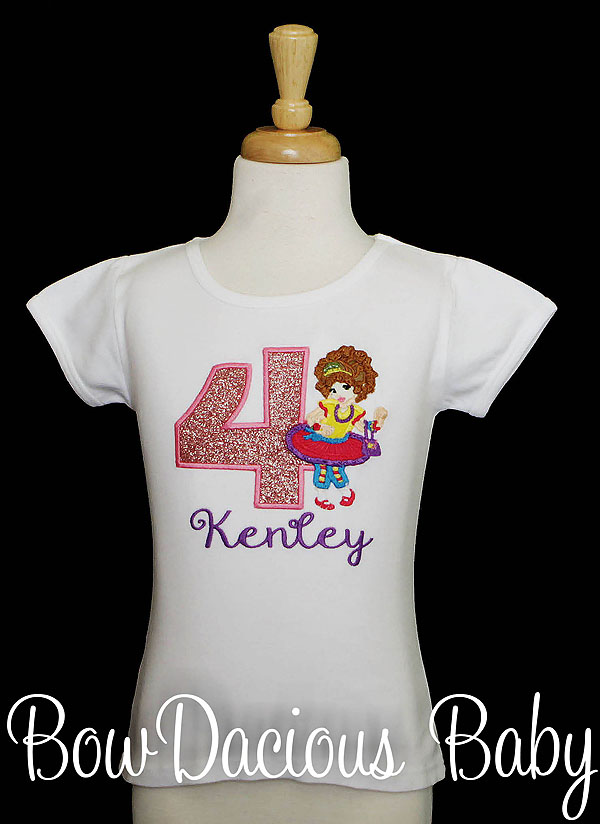 Fancy Nancy Birthday Shirt, Custom, Any Age