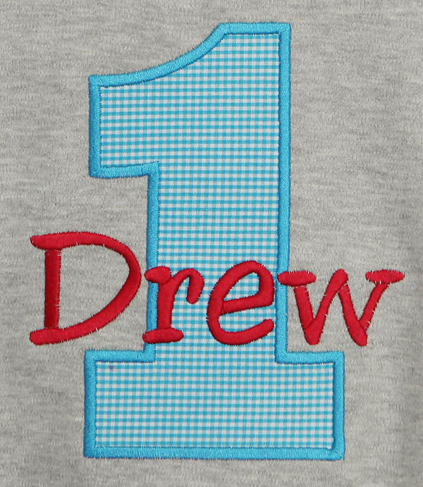 Boy's Birthday Shirt, Name and Age, Custom, Any Age, Any Colors