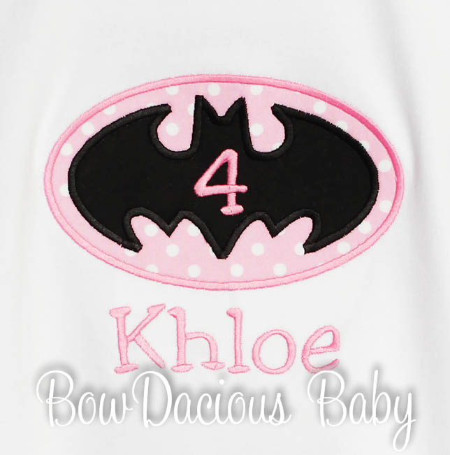 Personalized Batman Birthday Shirts