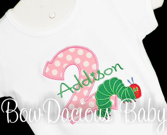 The Very Hungry Caterpillar Personalized Birthday Outfit