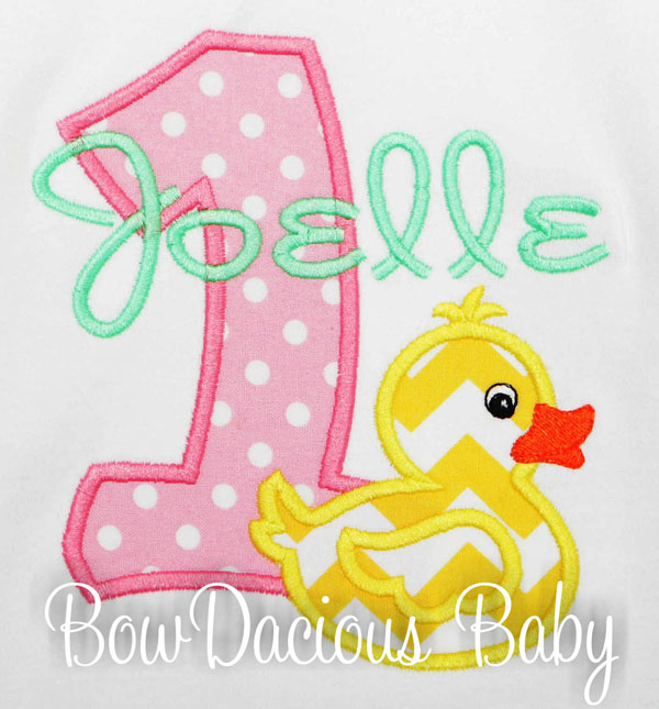 Rubber Duck Birthday, Girls First Birthday, Rubber Duck Shirt, Rubber Duck Dress, Duck Shirt, Girl 1st Birthday, Rubber Duck, Custom