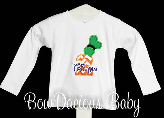 Goofy Birthday Shirt or Onesies, Custom
