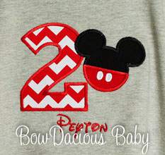Grey Mickey Mouse Birthday Shirt, Mickey Pants Birthday Shirt, Boys Birthday Shirt or Onesie