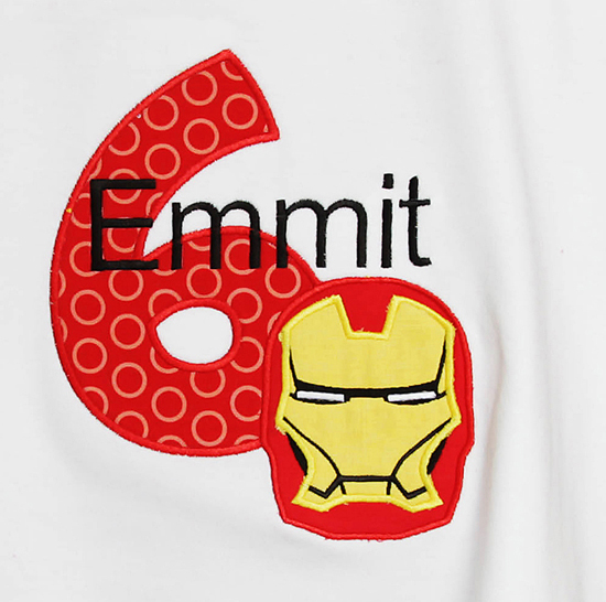 Custom Ironman Birthday Shirt or Onesie, Any Age