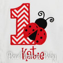 Ladybug Birthday Shirt, Ladybug Birthday Outfit, First Birthday, Second Birthday, Custom, ANY AGE, ANY COLORS