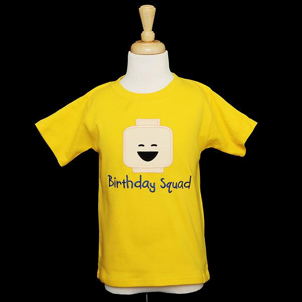 Lego Brickheadz Shirt, Sibling Birthday Shirt, Brother Shirt, Birthday Squad Shirt, Custom