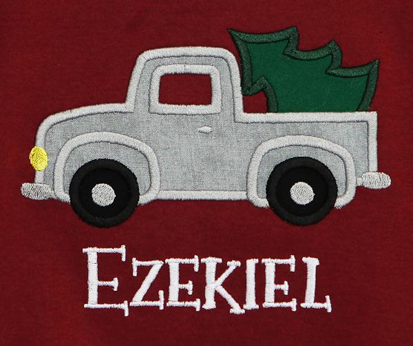Christmas Shirt For Boys, Christmas Truck Shirt, Vintage Christmas Tree Truck, Christmas Tree Truck Shirt, Kids Christmas Shirt, Custom