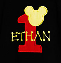 Mickey Mouse Birthday Shirt - Mickey Mouse Shirt