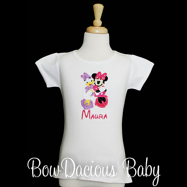 Minnie and Daisy Personalized Shirt, Personalized Disney Vacation Shirt, Custom