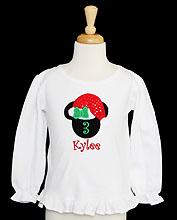Christmas Minnie Mouse Birthday Shirt, Mrs. Claus Birthday Shirt, Custom