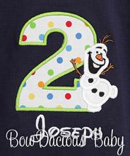 Boys Olaf Birthday Shirt, Olaf Boys Birthday Shirts, Olaf birthday Tops, Olaf Birthday, Custom