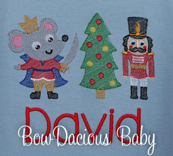 Nutcracker Christmas Shirt, Custom, Personalized