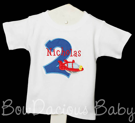 Little Einsteins Birthday Shirt, Rocket Birthday Shirt, Number, Monogrammed, Boys Birthday Shirt