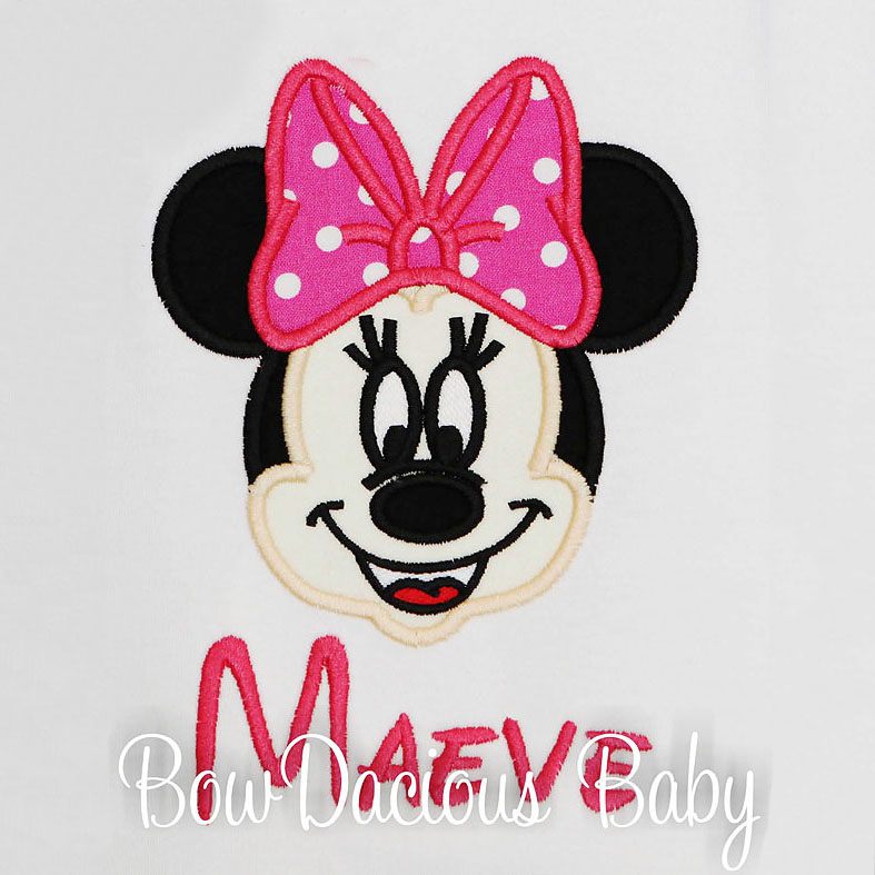 Minnie Mouse Shirt, Personalized, Custom