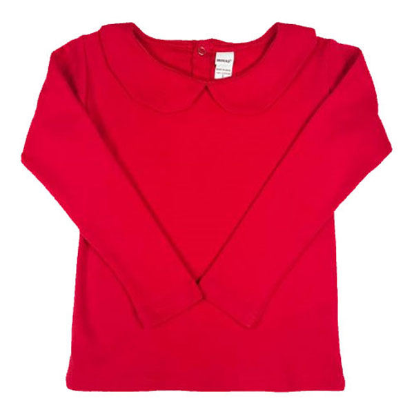 *Upgrade* Peter Pan Collar Shirt, 3 Colors to Choose From