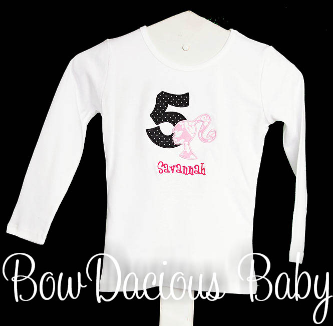 Barbie Birthday Shirt, 5th Birthday Shirt, Doll Party Shirt, Little Girl Birthday Shirt, Barbie Birthday Outfit, Barbie Shirt