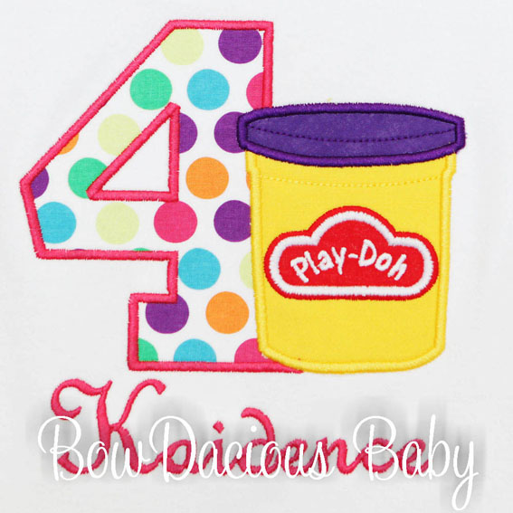 Play-Doh Birthday Shirts and Onesies