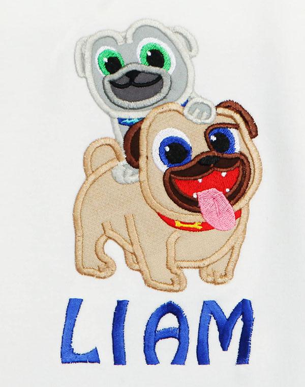 Disney Puppy Dog Pals T-Shirt for Boys, Custom