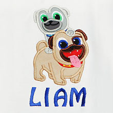 Disney Puppy Dog Pals T-Shirt for Boys, Custom